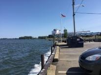 Good old American flag at the lake!