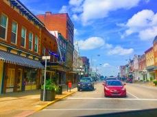 The main street!