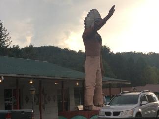 A giant Cherokee!!