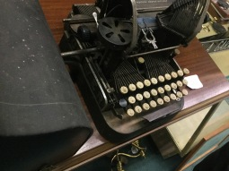 An old school typewriter!