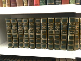 Lot of Mark Twain books!