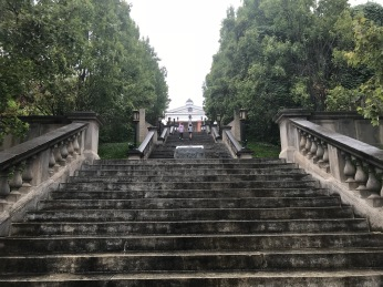 The steps of greatness!