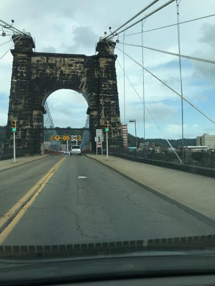 Into West Virginia!