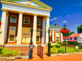 The historic Botetourt County Courthouse in Fincastle, Virginia!