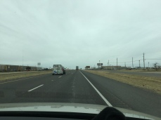 Driving on the lone star road!