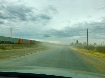 The dust spills!