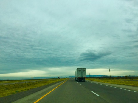 Driving unto the mist!