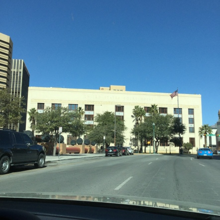 The United States Courthouse in El Paso