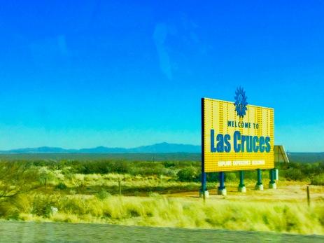 Into Las Cruces!