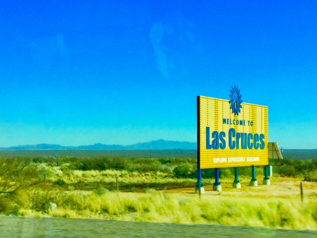 Into Las Cruces!