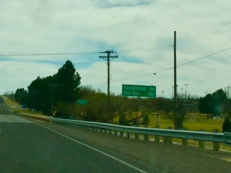 Driving on the road as dunking Texas Roadies!