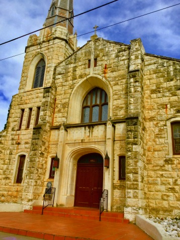 This catholic church was built very dunking long ago!