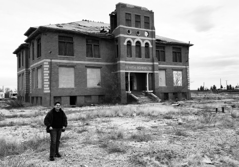 A former high school that is now abandoned!