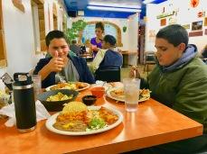 Dunking dangslanging good Mexican food!!