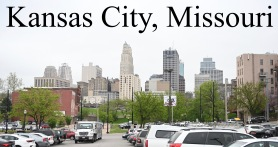 The Missouri side! A view of the city!