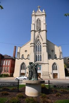 A beautiful catholic church.