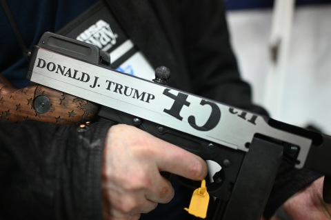 Great gun: tough on crime, strong on border, supports the 2nd amendment, and loves our vets!!! This gun has my total and complete endorsement!