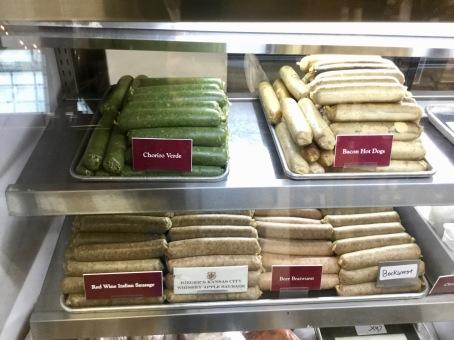 Interesting sausages!