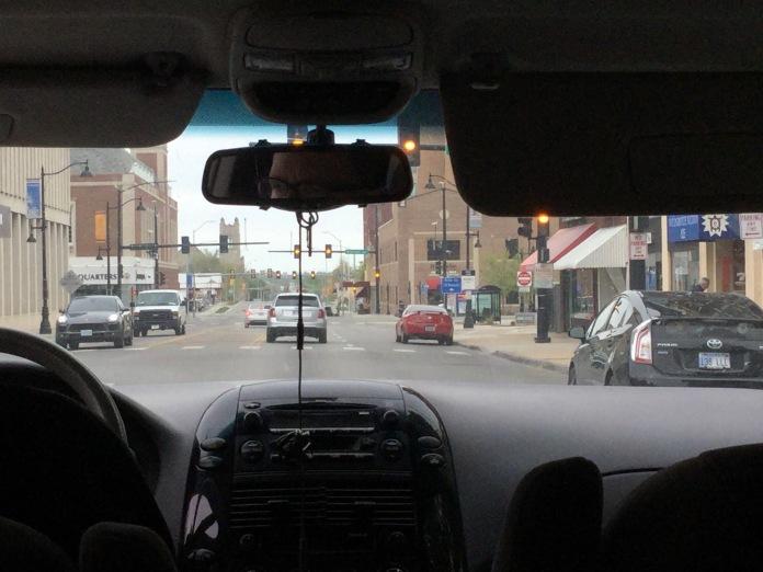 The Kansas side! Nice street!