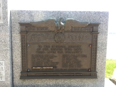 Bellevue, Iowa! Remembering the fallen.