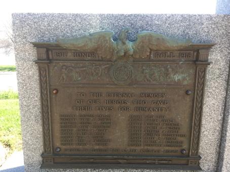 Bellevue, Iowa! Remembering more of the fallen.