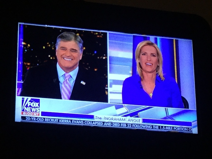 Fox News should do a duo show of Sean Hannity and Laura Ingraham! The show would be really epic!!!