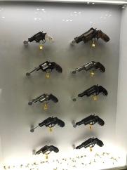 9 pistols!