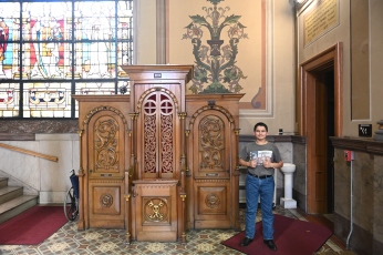 Mother of God Roman Catholic Church: these confessionals are classic!!!