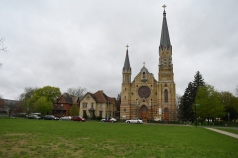 St Patrick Church: a beautiful Catholic church.