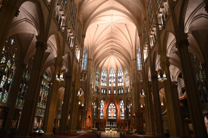 Cathedral Basilica of the Assumption: known to be America's Notre-Dame!