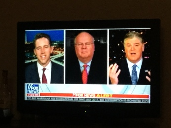"""As I've always said, they are in Russia collusion delusion. They have gone nuts. They have TDS! They are radical far left DEMOCRATS!!!!""—Sean Hannity"