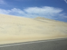 The Outer Banks is very sandy.