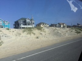 Lots of people own beach homes out here.
