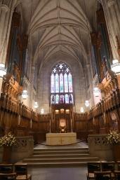 The altar of Duke Chapel
