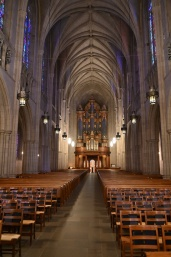It would be brilliant if Duke Chapel turned into a Catholic church (especially a Latin mass one).